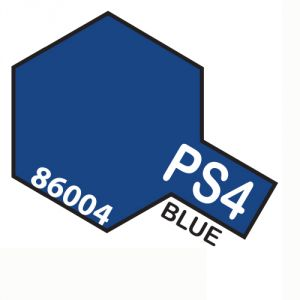 Tamiya PS04 vernice spray per policarbonato, 100ml, blue