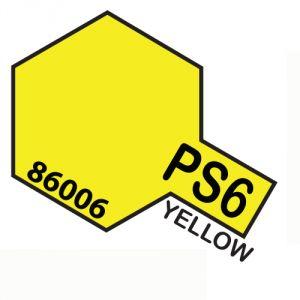 Tamiya PS06 vernice spray per policarbonato, 100ml, yellow