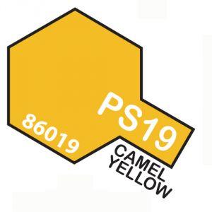 Tamiya PS19 vernice spray per policarbonato, 100ml, Camel yellow