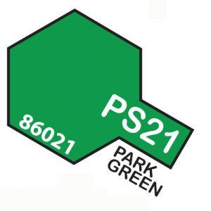 Tamiya PS21 vernice spray per policarbonato, 100ml, park green