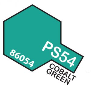 Tamiya PS54 vernice spray per policarbonato, 100ml, cobalt green