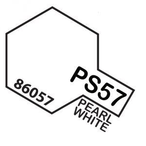 Tamiya PS57 vernice spray per policarbonato, 100ml, pearl white