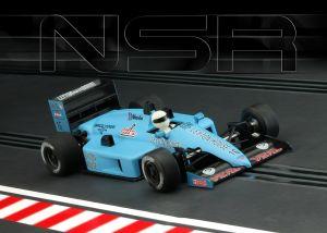 NSR Formula Uno 86/89, King Evo3 21k, #16 light blue