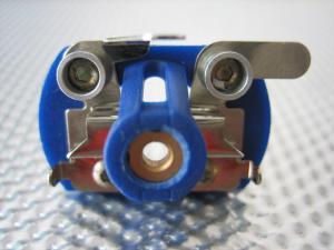 Testina Cahoza in plastica per motore C-can, -5 gradi su anticipo indotto, assemblata
