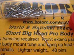Koford spilli corti a testa larga per fissaggio carrozzerie
