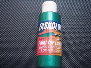 "Faskolor ""Faspearl"" vernice verde perlato per carrozzerie in lexan"