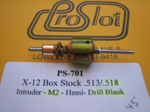 """ProSlot indotto X-12 con anticipo 45 gradi, diametro .518"""", drill blank"""