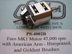ProSlot motore Euro MK1 con indotto Puppy Dog, 47.000 rpm, 80t31 25 gradi