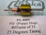 """ProSlot indotto """"PD"""" Puppy Dog, 80t31g,  anticipo 25 gradi"""