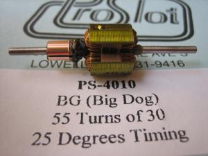 """ProSlot indotto """"BD"""" Big Dog, 55t30g, anticipo 25 gradi"""