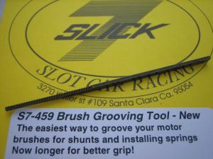 Slick-7 attrezzo per alloggiamento shunt sui carboncini
