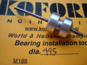 """Koford allineatore per magneti e bronzine/cuscinetti, diametro: .495"""""""