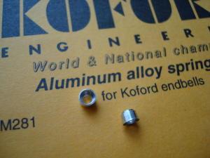 Koford portamollette in alluminio per set-ups koford set-ups (1 coppia)