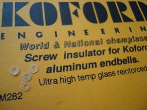 Koford isolante per testine in alluminio (4 pezzi per confezione)
