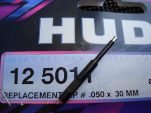 """Hudy punta di ricambio .050"""" per chiavini Hudy"""