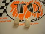 TQ coppia clips argentate per pick-up