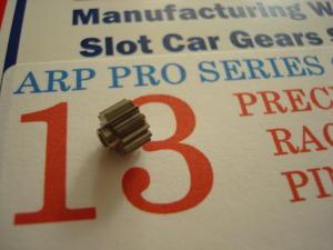 ARP pignone 13 denti, modulo 64, foro 2 mm