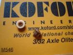"Koford bronzine per assali con diametro 3/32"""