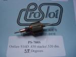 """ProSlot indotto Outlaw S16D, pacco lamellare .450"""", diametro .520"""", anticipo 38 gradi"""