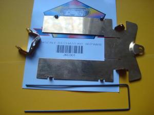 """JK chassis """"D3"""" in kit, diametro tondino acciaio: .063"""""""