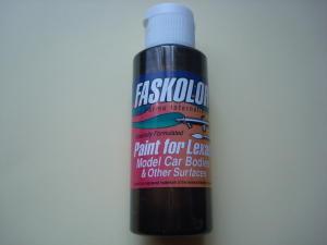 """Faskolor """"Faspearl"""" vernice a base di acqua, nero perlato, per carrozzerie in lexan"""