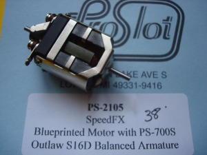 Speed FX blueprinted super 16D motore con  indotto 700S Outlaw , anticipo 38 gradi