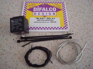 """Difalco """"blast"""" relay per pulsanti. 40 amp."""
