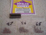 Difalco 3 sets di resistenze per Difalco HD30: 136, 162, 192 ohms di resistenze totali per scale racing.