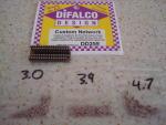 Difalco 3 sets di resistenze per Difalco HD30: 87, 113, 136 ohms di resistenze totali per piste e motori veloci.