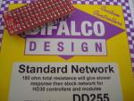 Difalco resistenza da 180 ohm per pulsante Difalco HD30