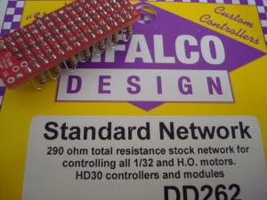 Difalco resistenza da 290 ohm per pulsante Difalco HD30