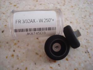"""JK ruote anteriori per modelli D3, 3/32"""" x.750"""" x .250"""""""