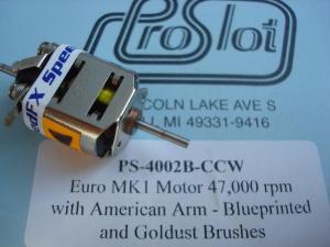 ProSlot motore Euro MK1 con rotazione per NSR Mosler, Puppy Dog, 47.000 giri