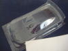 "JK 1/24 Toyota stock car carrozzeria trasparente, spessore .007"" con maschere per vetri"