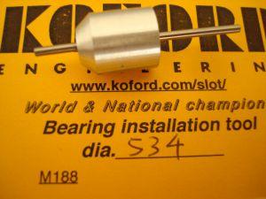 """Koford allineatore per magneti e bronzine/cuscinetti, diametro: .534"""""""