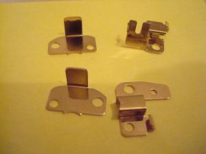 Cahoza set portacarboncini in alluminio bagnati nell'oro per testine in plastica