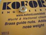 Koford dado pick-up in ottone, 9,53mm