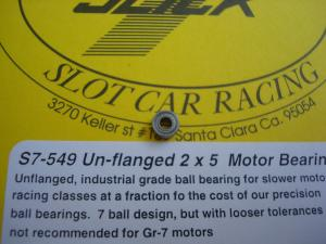 Slick-7 cuscinetto per motori  2mm x 5 mm, non flangiato e schermato