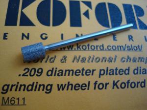 "Koford fresa diamantata per piccoli trapani, diametro: .209"" (5,32mm)"