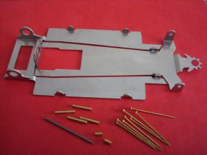 JK telaio 1/32 F1 in acciaio per motori Falcon, Hawk e Euro MK1