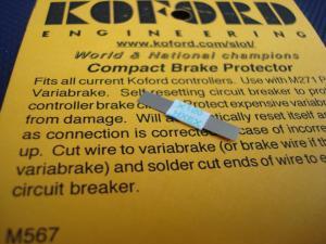 Koford fusibile circuito freno per pulsanti