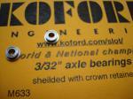 """Koford coppia di cuscinetti per assali da 3/32"""""""