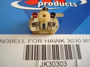 JK testina per motori JK Hawk M3 e M6: consente l'utilizzo di indotti con commutatore professionale